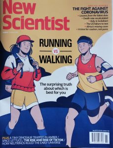 Is it better for your health to run or walk? Running, walking and Orienteering during the era of corona virus. Είναι καλύτερα για την υγεία σας να τρέξετε ή να περπατήσετε; Τρέξιμο, περπάτημα και προσανατολισμός στην εποχή του κορονοϊού.