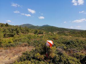Σάββατο, 4 Απριλίου 2020. Aγώνας προπόνησης προσανατολισμού στα Πλατανάκια Πανοράματος στη Θεσσαλονίκη. www.orienteering-greece.org